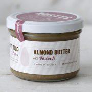 almond butter with halva half