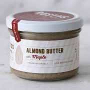 almond butter with maple half
