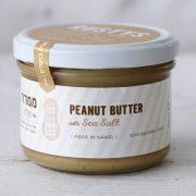 peanut butter with sea salt half