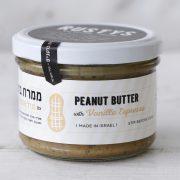 peanut butter with vanilla espresso half