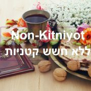 Non Kitniyot